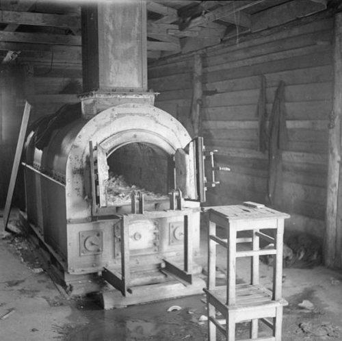 Крематорий лагеря.