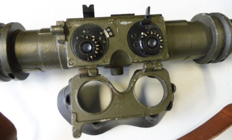 Окуляр и маска дальномера Em 0,7 RF.