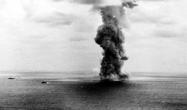 Взрыв на «Ямато».
