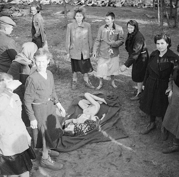 Освобождение Берген-Бельзена. Апрель 1945 г.