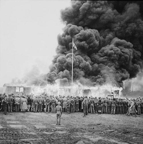 Сожжение лагеря.