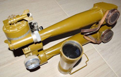 Зрительные трубы и лимб стереотрубы.