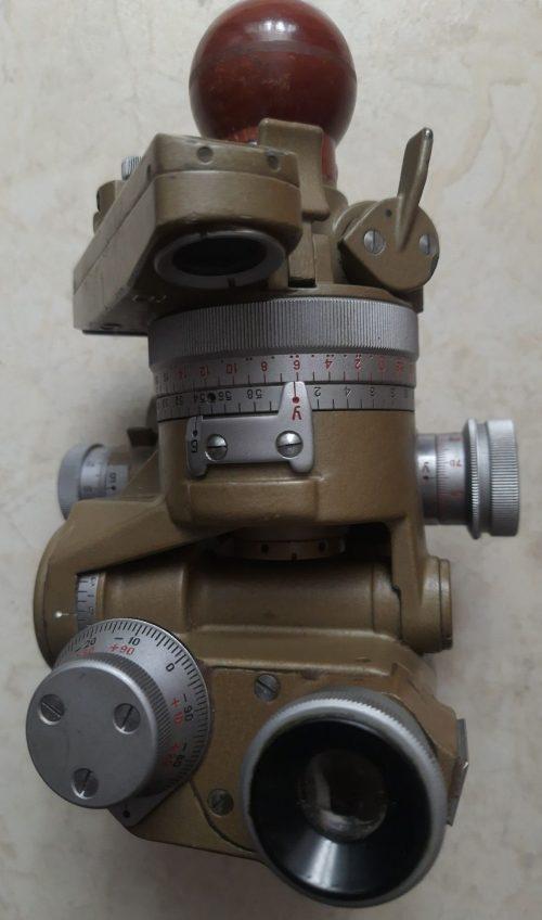Артиллерийская буссоль ПАБ-2 без треноги и азимутальной насадки.