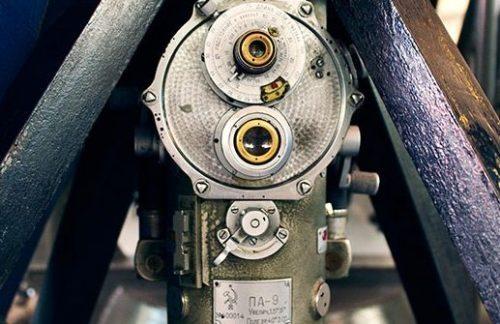 Окулярная головка командирского перископа ПА-9.