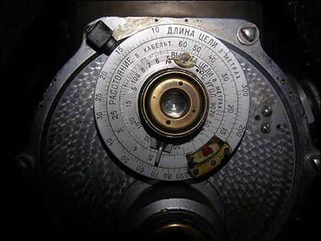 Измерительный окуляр перископа ПА-9.
