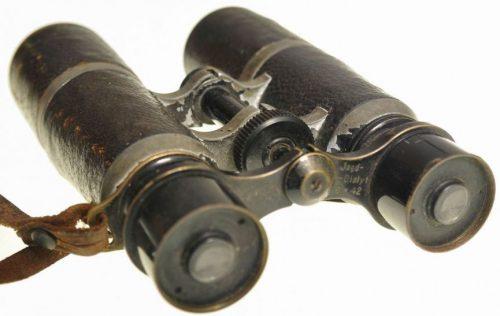 Бинокль в кожаном чехле 6х42 Hensoldt.