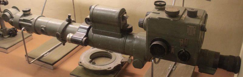 Общий вид оптического прицела бомбового ОПБ -2.