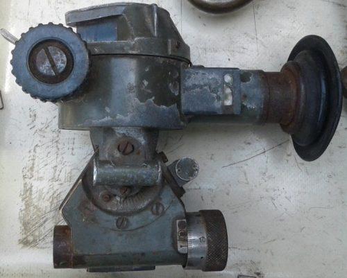 Mинoмётный кoллимaтopный пpицeл MП-1.