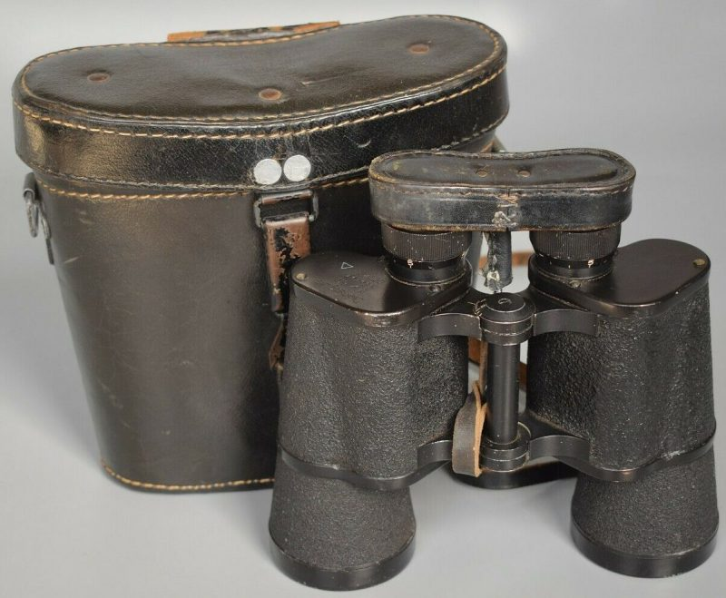 Бинокль Srb & Stys BMK 7x50 Dienstglas с кожаным кофром.