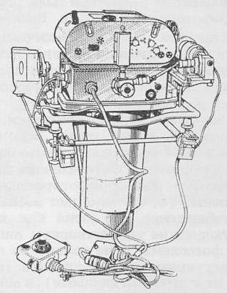 Рисунок аэрофотоаппарата АФА-33.