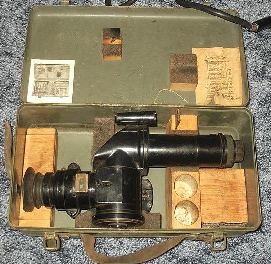 Оптическая труба ПО-1М1 в ящике.