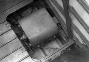 Фотокамера АФА-ИМ на самолете Як-9Р.