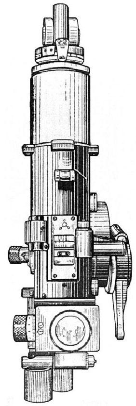 Рисунок перископического прицела ПТ-1.