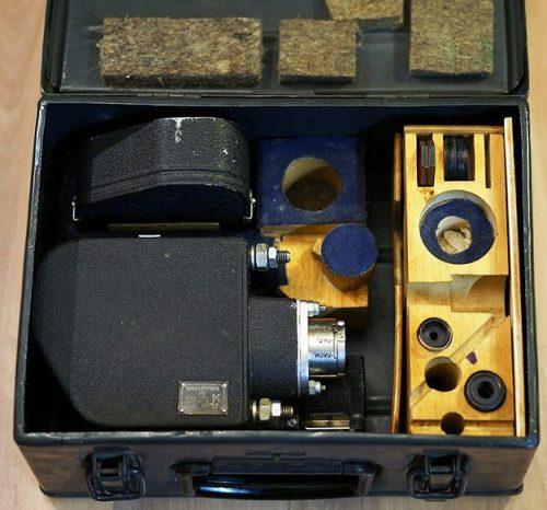 Полный комплект фотокинопулемета «С-13».