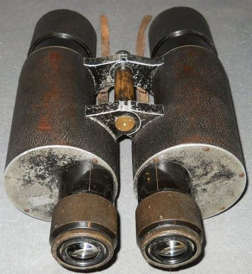 Бинокль зенитный артиллерийский Carl Zeiss 8x60 Deck mounted.