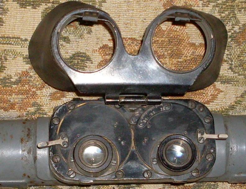 Однометровый стерео-дальномер ЗД для малокалиберной зенитной артиллерии.