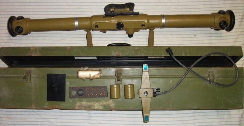 Дальномер ЗДН-1 с базой 1 метр.