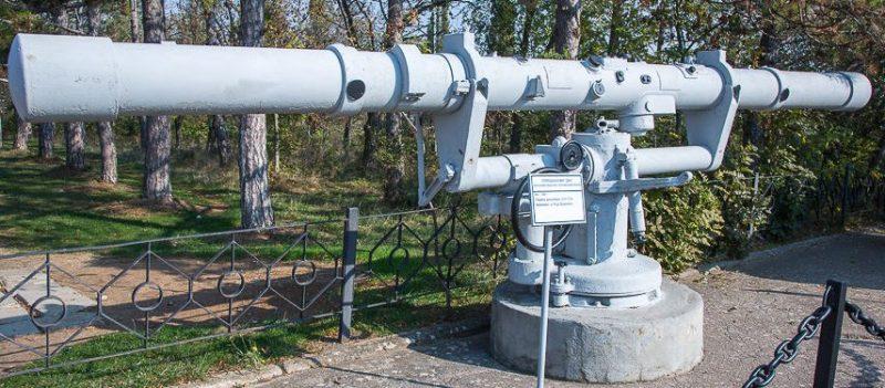 Стереодальномер «ДМ-6» (дальномер морской с 6-метровой базой).