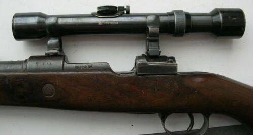 Снайперская винтовка Маузер 98К с прицелом ZF-39 Сarl zeiss 4x39.