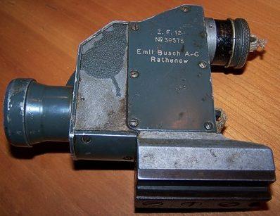 Оптический прицел Zielfernrohr 12 (2,5х20) для пулемета MG 08.