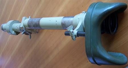 Танковый прицел PzZF-1 для пулеметов MG 34, устанавливаемых в бронеколпаках ДОТов на шаровых опорах.