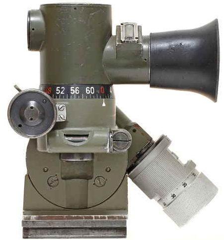 Прицел MGZ34 к пулемету MG-34.