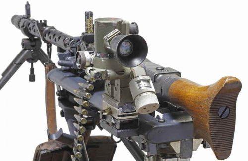 Пулемет MG-34 с прицелом MGZ34.