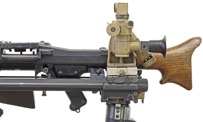 Пулемет MG-40 с прицелом MGZ40.