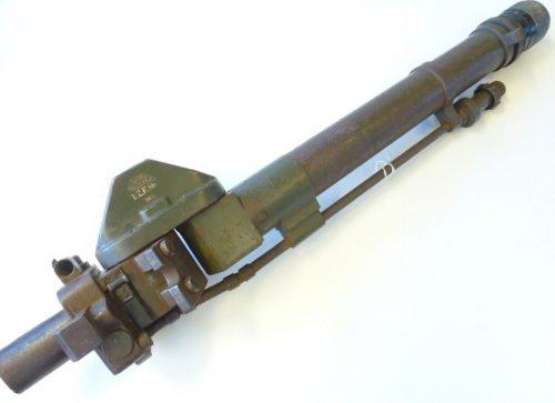 Турельный прицел TZF-5b танковой пушки 7.5cm KWK в версии Panzer IVaf.