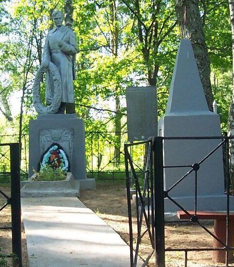 д. Асташево Опочецкого р-на. Братская могила советских воинов, погибших в 1944 году.