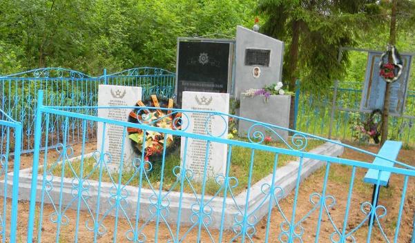 д. Бальтино Опочецкого р-на. Братская могила партизан З-й Калининской бригады, погибших в 1942-1943 годах.