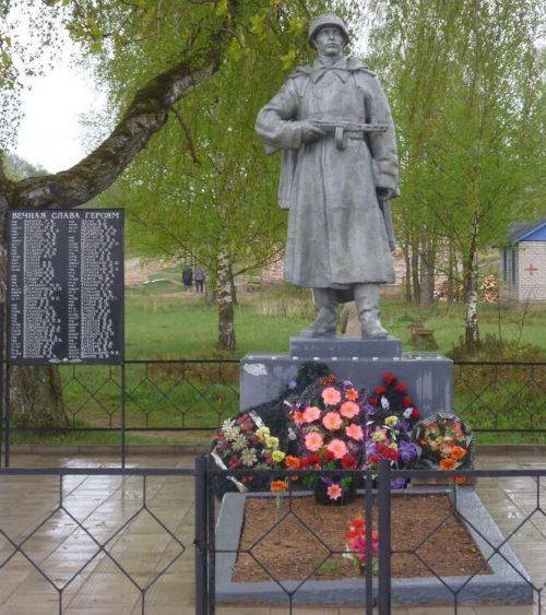 д. Болгатово Опочецкого р-на. Братская могила советских воинов, погибших в 1944 году.