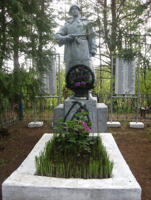 д. Васьково Опочецкого р-на. Братская могила советских воинов.