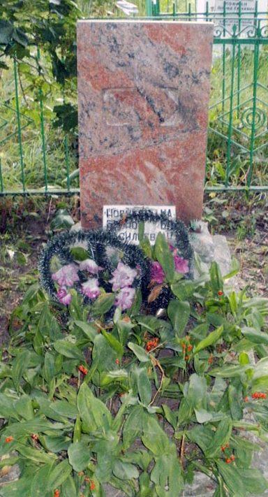 п. Красногородск. Братская могила советских воинов, погибших в годы войны.