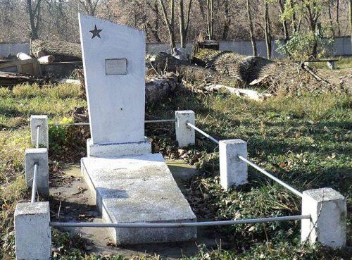 с. Иванков Андрушевского р-на. Братская могила, в которой захоронено 34 советских воинов.