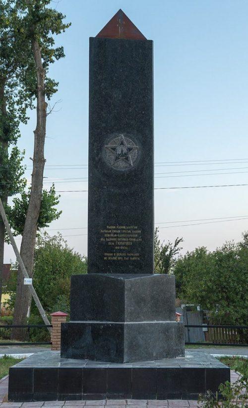 с. Глыбочица Житомирского р-на. Памятник воинам-односельчанам, погибшим в годы войны.