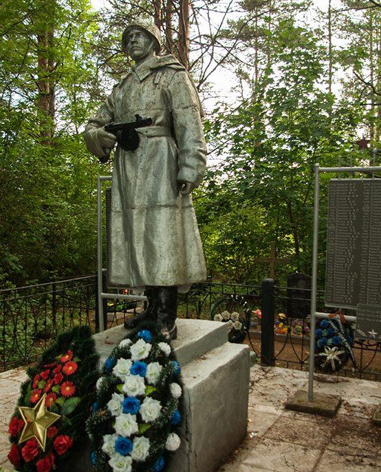 д. Копотиловка Опочецкого р-на. Братская могила советских воинов.