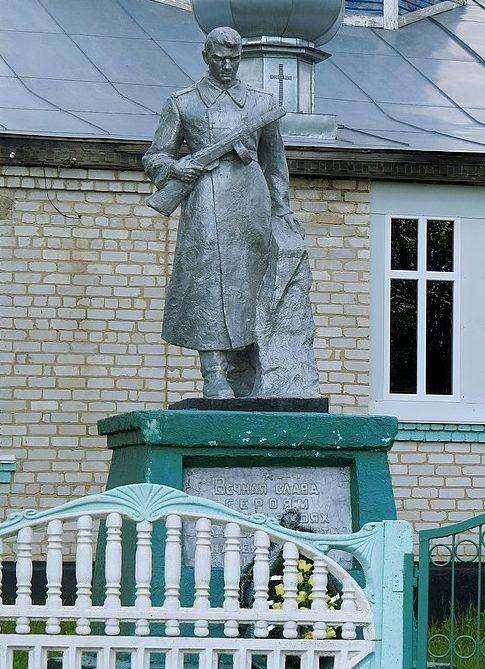 с. Криловка Андрушевского р-на. Памятник воинам-односельчанам.