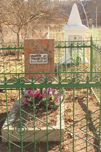 п. Красногородское. Братская могила советских воинов, погибших в 1944 году.