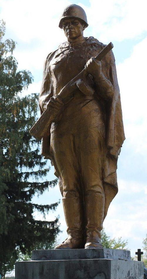 с. Павелки Андрушевского р-на. Братская могила 2 советских воинов.