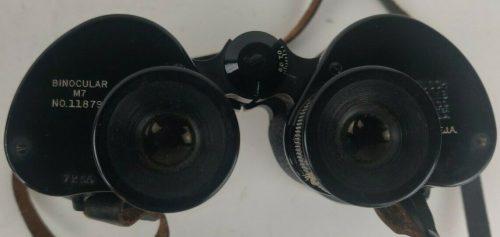 Бинокль полевой М7 Bausch & Lomb 7x50 с футляром.