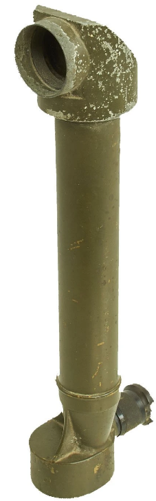 Траншейный перископ №14 х10 Ф 4º с футляром и деревянной ручкой, изготовленный фирмой «Ross Ltd London».
