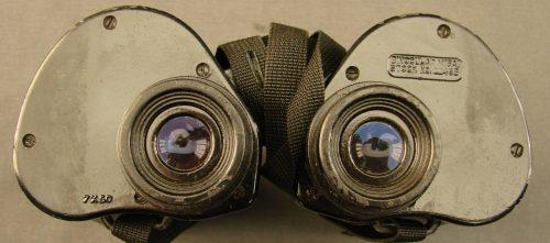 Бинокль M15A1 7x50 и кожаный кофр М24 к нему.