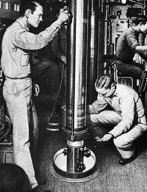Перископы субмарины USS Bonefish (SS-223) типа «Гато».