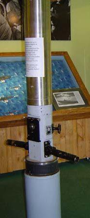 Перископ подлодки USS Rasher (SS-269) типа «Гато» в музее.