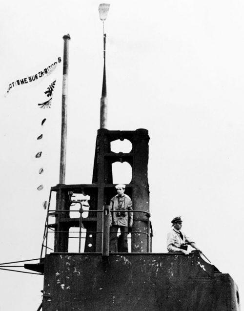 Перископ субмарины USS Wahoo (SS-238) типа «Гато».
