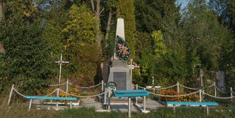 с. Сингуры Житомирского р-на. Братская могила 126 советских воинов.