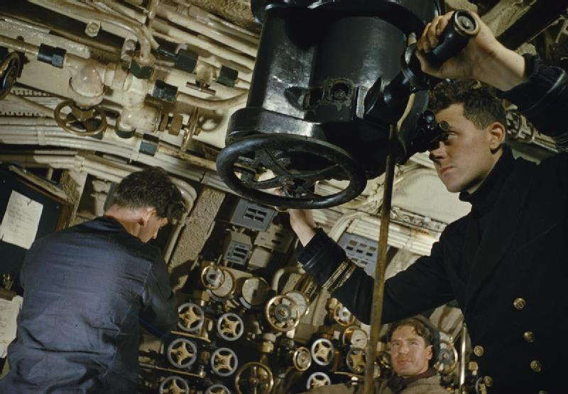 Перископ подводной лодки HMS Tribune класса Т.