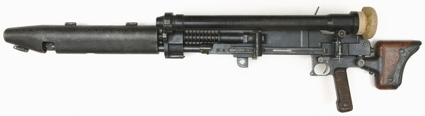 Танковый вариант пулемета Тип 97 с оптическим прицелом.