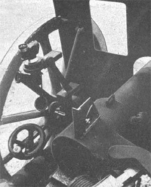 Панорамный прицел для 75-мм артиллерийских орудий. Он имел 3-кратное увеличение и поле зрения 13°.